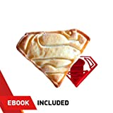 SUPERHERO COOKIE CUTTERS - For Extra Fun Baking - Includes Superman mold - Safe and Plastic; Perfect for Making Cookies, Mini Sandwiches, Shapped Cheese