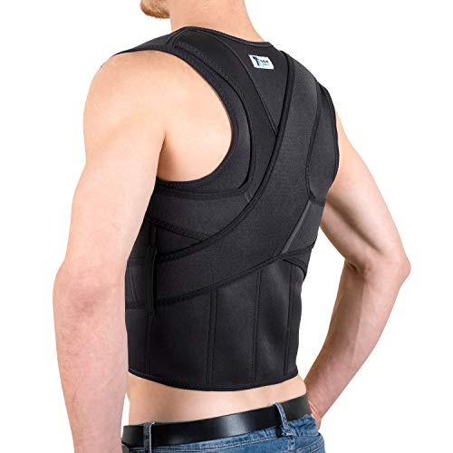 The Ultimate Posture Corrector for Women & Men Under Clothes | Effective & Comfortable | Back Brace for Slouching & Hunching -Shoulders Clavicle Support | Upper & Lower Back Supports | Body Therapy