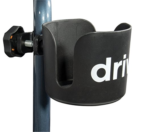 Drive Medical Universal Cup Holder, Black