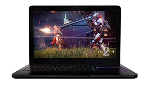 Razer Blade Pro 17: Gaming Laptop - 120Hz Full HD IPS Display - Intel Quad-Core i7-7700HQ - NVIDIA GeForce GTX 1060 – DDR4 16GB RAM (2400MHz) - 256GB NVMe SSD + 2TB HDD - Windows 10 - CNC Aluminum