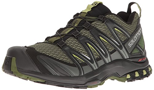 Salomon Men's XA PRO 3D Trail Runner, Chive, 10 M US
