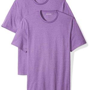 6fbf56479a309 Amazon Essentials Men s 2-Pack Regular-Fit Short-Sleeve Crewneck T-Shirts