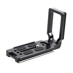 NEOHOOK Universal Quick Release L-Plate Bracket for Canon DSLR Camera Arca Swiss – Black