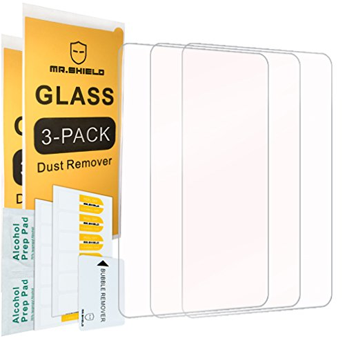 [3-PACK]-Mr.Shield For Sony PS Vita 2000 / Sony PlayStation Vita PSV 2000-Max [Tempered Glass] Screen Protector with Lifetime Replacement by ProductView