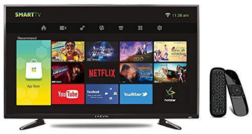 Kevin 102 cm (40 Inches) Full HD LED Smart TV KN40001A (Black) 1