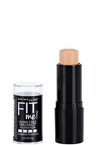 Maybelline New York Fit Me Shine-Free + Balance Stick Foundation, Classic Ivory, 0.32 oz.