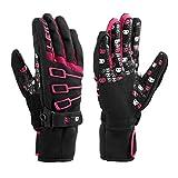 LEKI Invader S Gloves - Large-XLarge/Black-Pink
