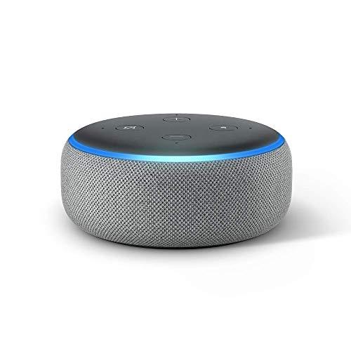 Echo Dot (3ra generación) - Bocina inteligente con Alexa, gris oscuro