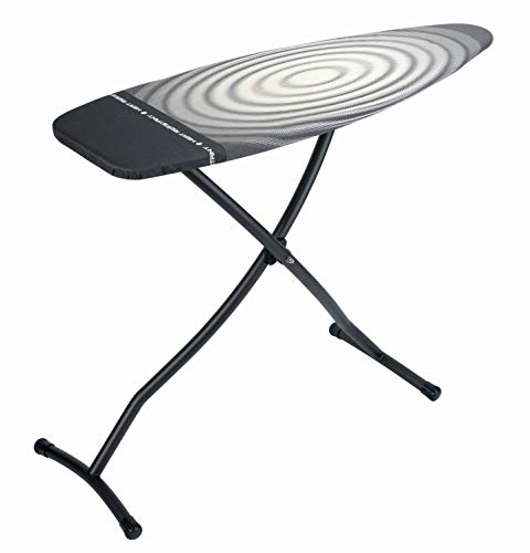 Brabantia Ironing Board with Iron Parking Zone, Size D, Extra Large - Titan Oval Cover