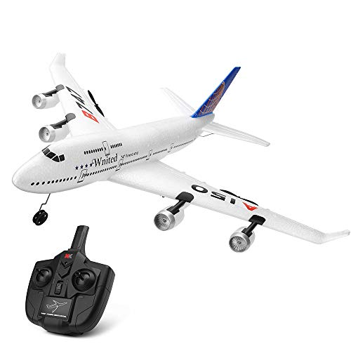 Sdin Remote Control Airplane,3Channels 2.4Ghz RC Plane Ready To Fly, Built in 6-Axis Gyro Fixed Wing 510mm Wingspan RC Airplane for Kids and Adults,Stability Flight RC Aircraft for Beginners