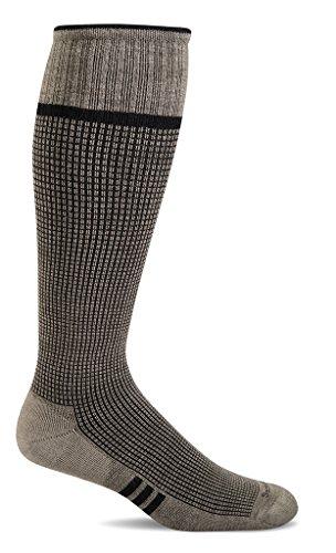 Sockwell Men's Lift Graduated Compression Socks, Khaki, Large/X-Large