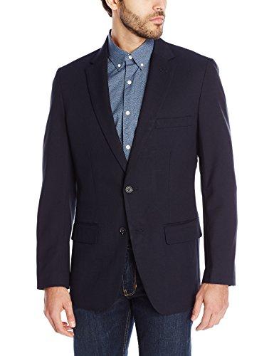 Haggar Clothing Men's Tailored Fit In Motion Blazer - 44 Regular - Midnight