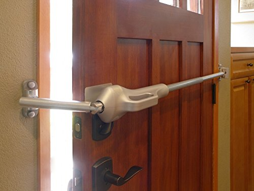 Best Home Security Door Lock Hardware. Security Door Bar Protection