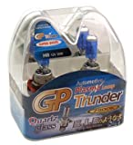 GP Thunder 7500K H8 35W Super-White with Quartz Glass Bulbs for Fog Lights, Cornering Lights, Day Time Running Lights - High - Low Beam SGP75K-H8 Pair - 2 Bulbs