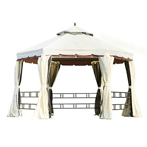 Erommy 12ft Outdoor Canopy Gazebo, Outdoor Canopy Gazebo