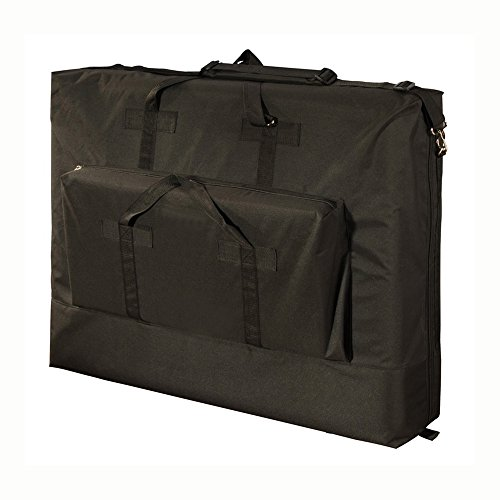 Royal Massage Deluxe Black Universal Oversized Massage Table Carry Case - 30'