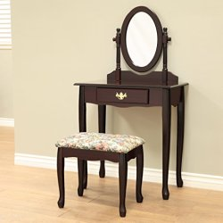 Frenchi Home Furnishing 3-Piece Vanity Set