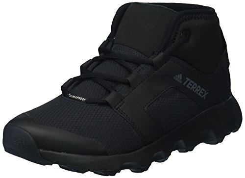 adidas outdoor Women's Terrex Voyager CW CP W Walking Shoe, Black/Chalk White, 8 M US