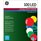 GE Energy Smart 100-Light LED Multi-Color Super Bright Sugar Plum Light Set