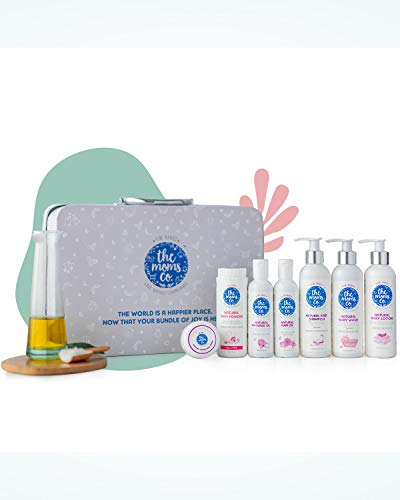 The-Moms-Co-Baby-Suitcase-Gift-Box-with-7-Skin-and-Hair-Care-Products-White