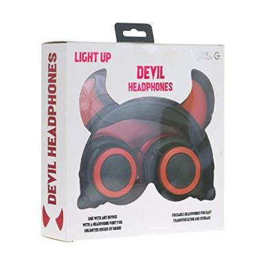 Gabba-Goods-Premium-LED-Light-Up-in-The-Dark-Devil-Over-The-Ear-Comfort-Padded-Stereo-Headphones-with-AUX-Cable-Earphones