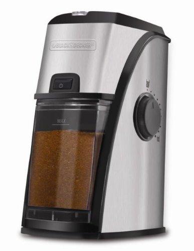 Black & Decker CBM210 Stainless Steel Burr Coffee Mill/Grinder