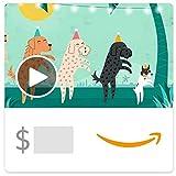 Amazon eGift Card - Conga Dogs (Animated)