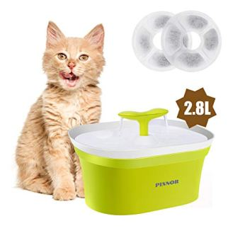 PIXNOR-Pet-Fountain-95oz28L-Automatic-Cat-Water-Fountain-Dog-Water-Dispenser-with-2-Replacement-Filters-for-Cats-Dogs-Fresh-Drinking-System-with-multistage-Charcoal-Filte