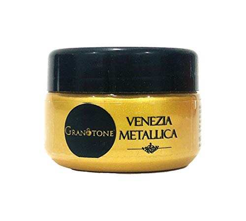 41 t%2BN4ZuBL - GRANOTONE Acrylic Venezia Metallic Colour 24 Carats Gold | 50 ml | Extra Sheen | Non Fading | Indoor/Outdoor | Non Toxic | Multi-Surface | Pro Artist, Hobby Painters & Kid | Made in India