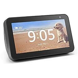Echo Show 5 - Compact smart display with Alexa - Charcoal