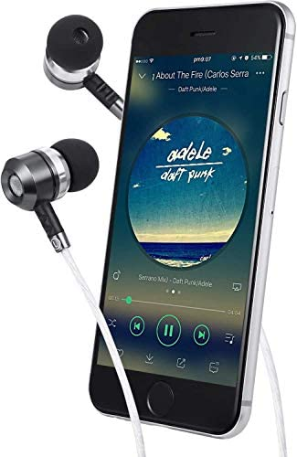 Sephia SP3060 Earbuds, Wired in-Ear Headphones with Tangle-Free Cord, Noise Isolating, Bass Driven Sound, Metal Earphones, Carry Case, Ear Bud Tips 13
