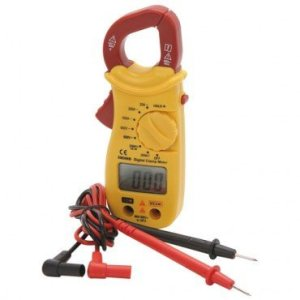 Mini Digital Clamp Multimeter 6 Functions/8 Ranges; Jaw Opening 1-inch
