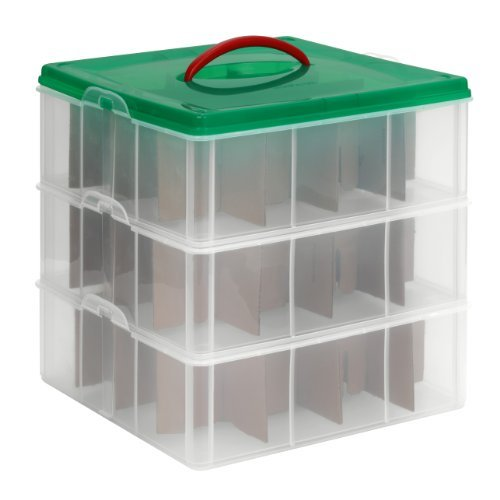 christmas decoration storage containers and boxes