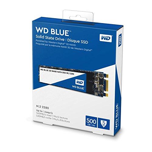 Western Digital Blue 500GB M.2 Internal Solid State Drive (WDS500G2B0B) 4