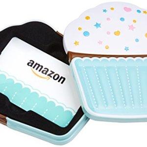 Amazon.com Gift Card in a Birthday Cupcake Tin 4108EUWUG1L