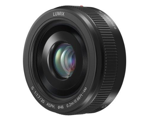 PANASONIC LUMIX G II Lens, 20MM, F1.7 ASPH, MIRRORLESS Micro Four Thirds, H-H020AK (USA Black)