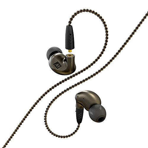 MEE audio EP-P1-ZN-MEE Pinnacle P1 High Fidelity Audiophile In-Ear Headphones with Detachable Cables