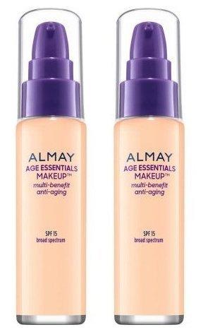 Com Almay Cosmetics Age Essentials Makeup Foundation 100