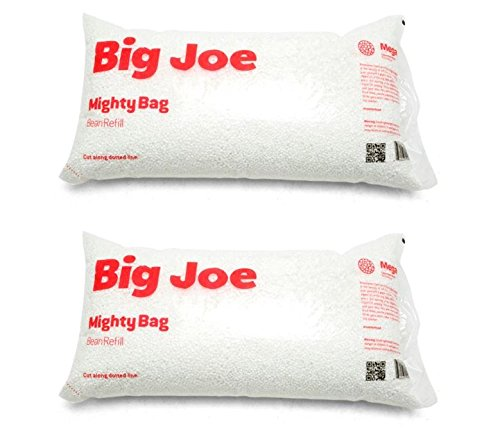 Big Joe 999992PK 100 L Comfort Research Megahh Bean Bags Refill Pack of 2, 2-Pack
