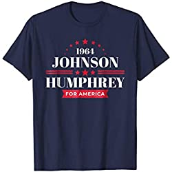 LBJ Shirt 1964 Democrat Campaign Lyndon Johnson T-Shirt