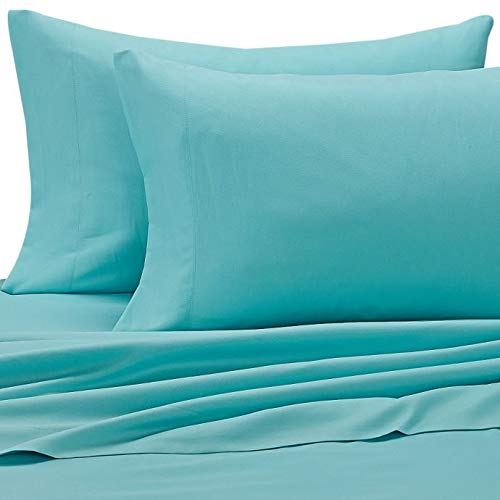 CASUAL CAMPUS LIVING Benzoyl Peroxide Resistant Cal King Sheet Set, Teal