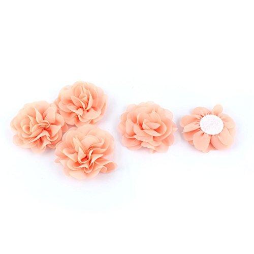 Amazoncom Edealmax Chiffon Rose A Mano Fai Da Te Ornamento