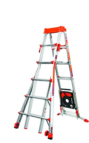 Little Giant Ladder Systems 15109-001 300-Pound Duty Rating Select Step 6-Feet to 10-Feet Adjustable Step Ladder