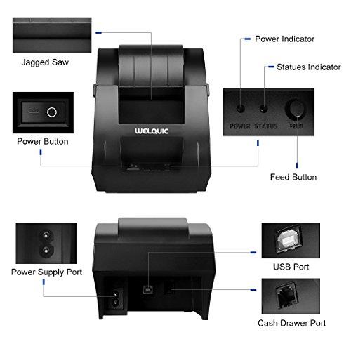 Epson Receipt Printer Command