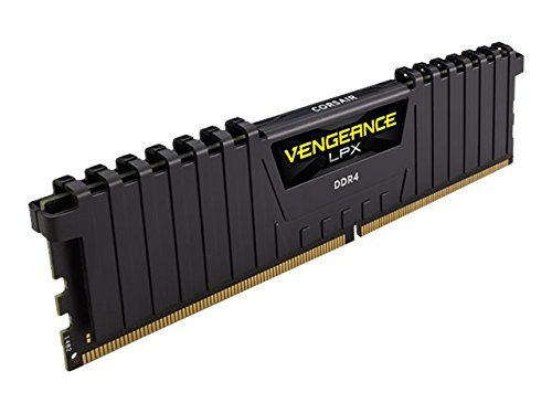 Corsair Vengeance LPX 16GB (2x8GB) DDR4 DRAM 3200MHz C16 Desktop Memory Kit - Black (CMK16GX4M2B3200C16)