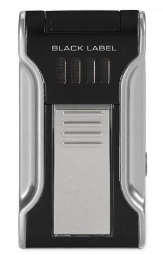 Black Label Dictator Cigar Lighter (Black & Chrome)