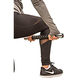 "Best Rated (5 Stars) Premium Muscle Roller Massage Stick (18"") - The Perfect Tool for Sore and Tight Muscles, Relieving Muscle Pain/Soreness, Exercise and Sports Performance, and Increased Flexibility"