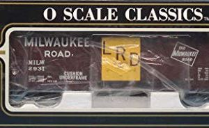 K-Line Electric Trains O Scale Milwaukee Road #2931 Classic Boxcar #K761-1371 410jrBXp24L