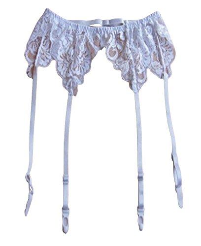 799dd0b10 Shymay Women s Ideal Garter Belt High Waisted Lace Suspender Belt-3 ...
