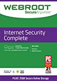 Webroot Internet Security Complete with Antivirus Protection | 5 Device | 1 Year Subscription | PC/Mac
